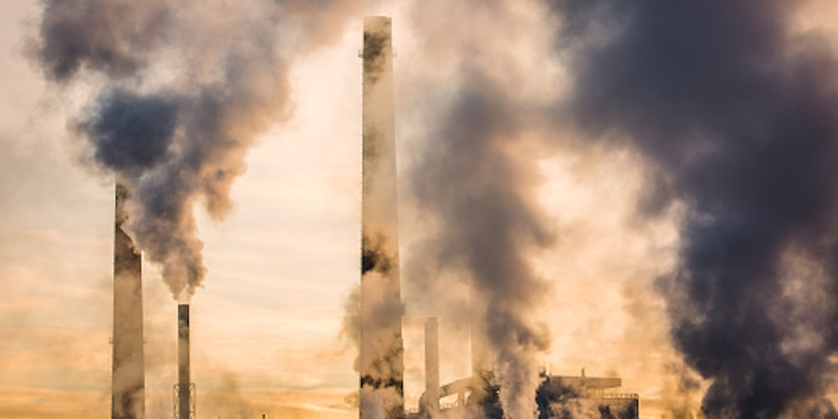 Paper Mill Air Pollution