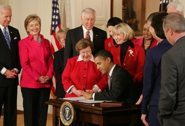 President Barak Obama  Equal Pay Bill Signing East Room