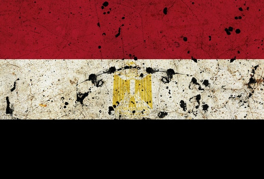 Egypt dirty grunge flag