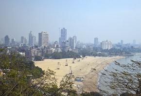 Skyline of Mumbai, India