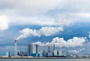 several power plants