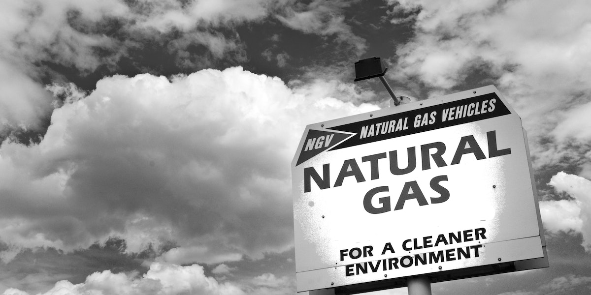 Xcel Energy SE corner of 3rd and Mariposa (a block west of Kalamath)Denver, COSubject: •Natural gas fuel sign