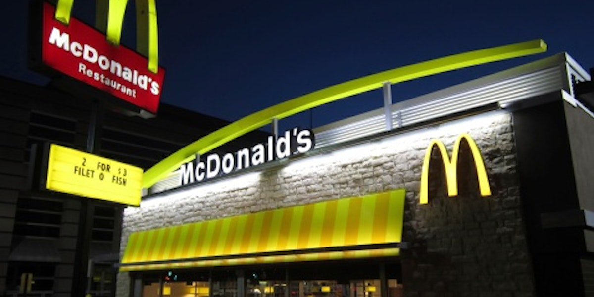 New Upscale Look for McDonald's