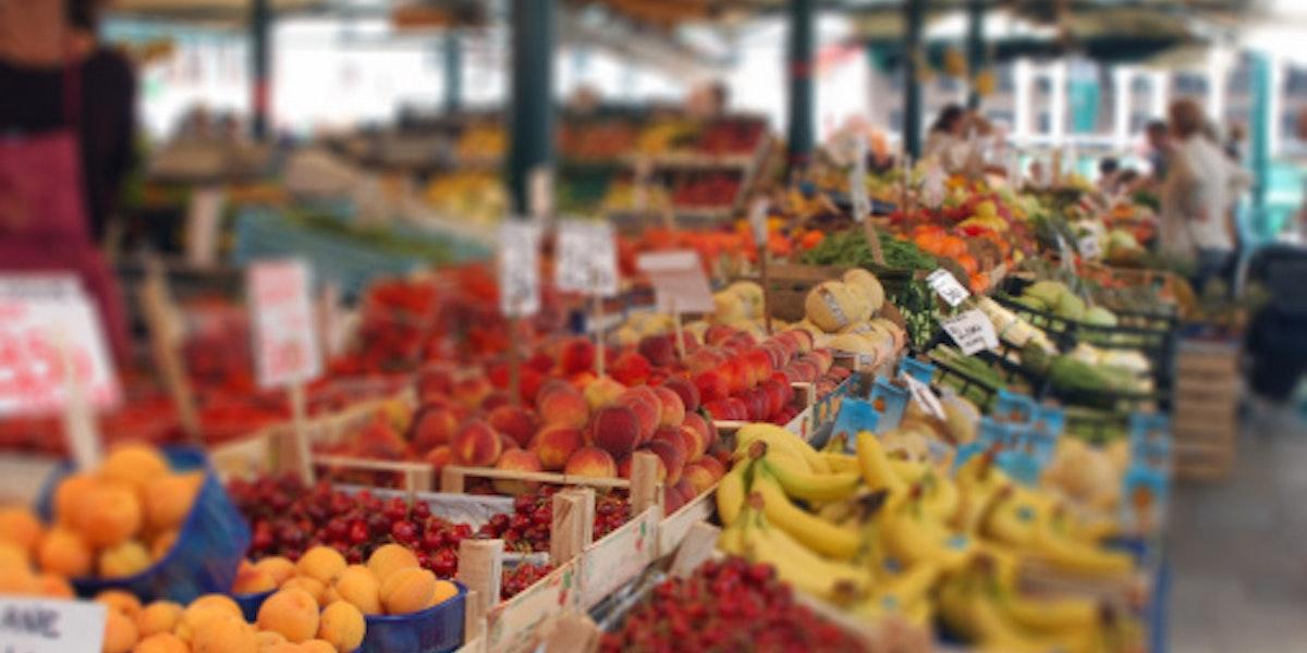 On the Fruit Market