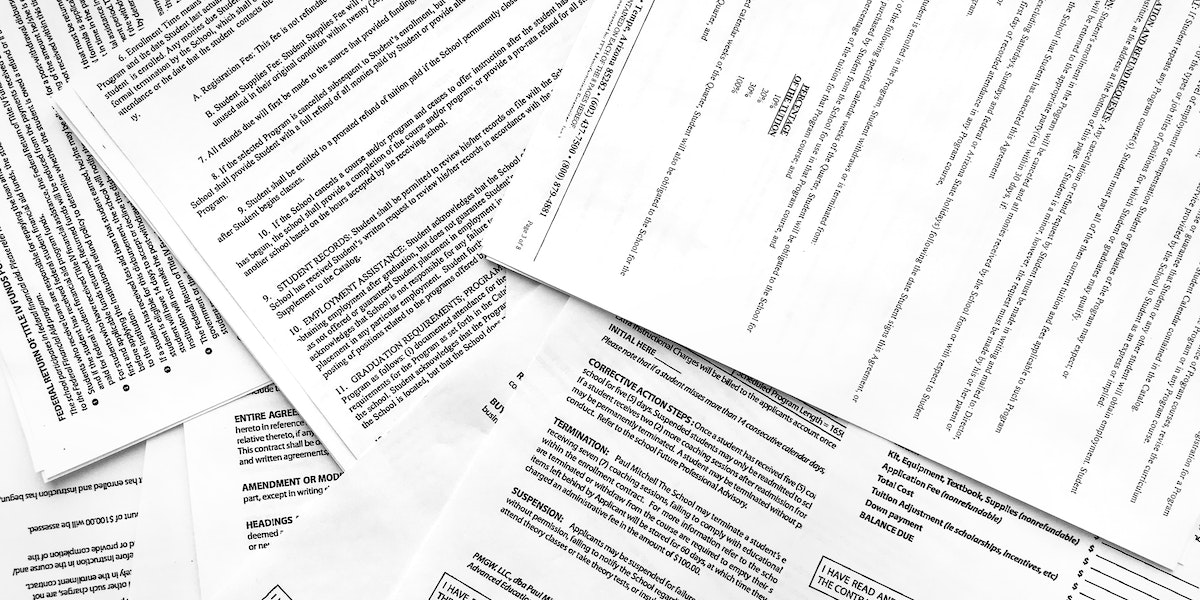 How College Enrollment Contracts Limit Students Rights