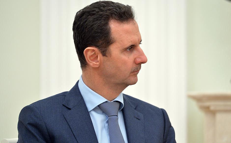 Syrian President Bashar Al-Assad. Source: Kremlin.