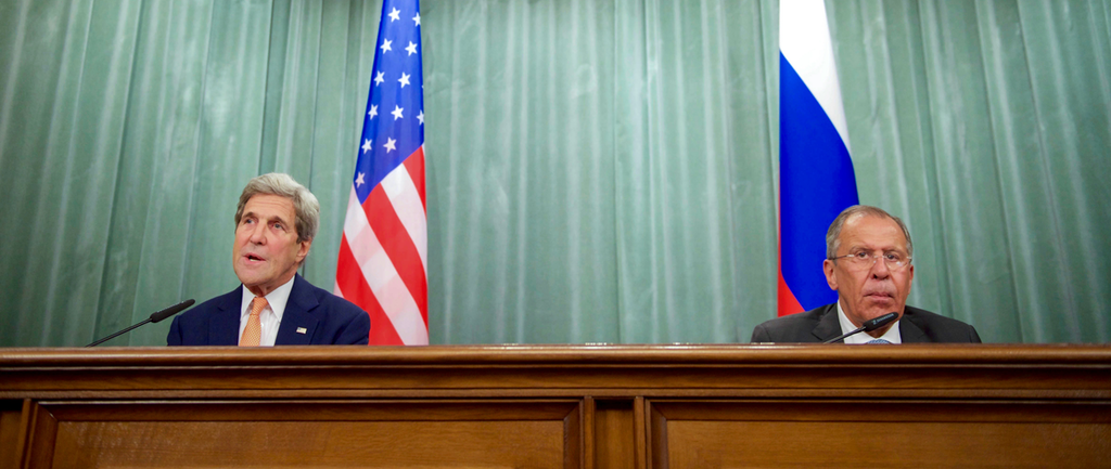 U.S. Secretary of State John Kerry addresses reporters during a news conference in the Russian Foreign Ministry's Osobnyak Guesthouse in Moscow, Russia, on July 15, 2016. Source: U.S. Department of State.