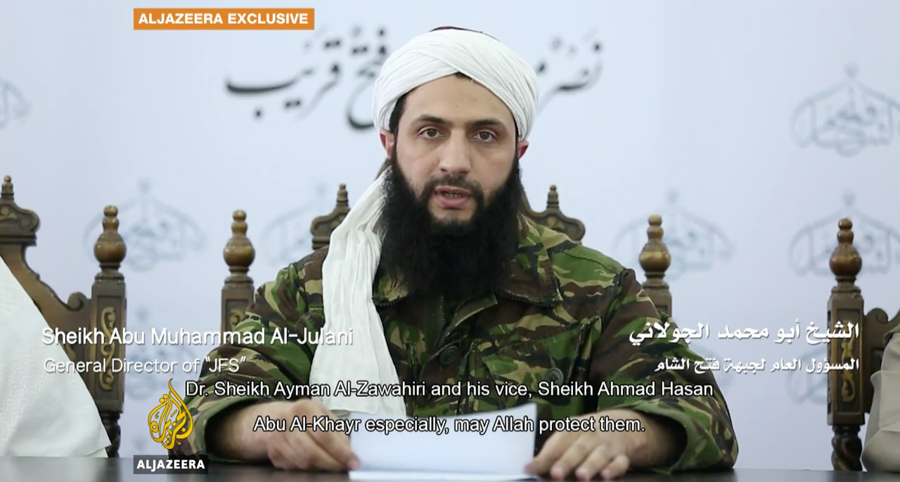 Al Qaeda Quits Syria In Name Only