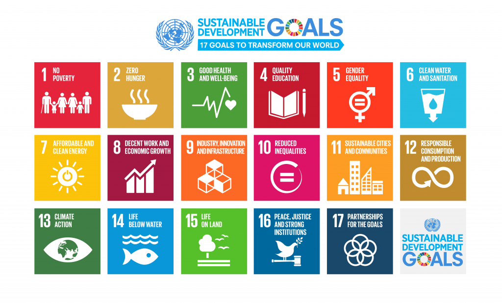Learn more about the United Nation's Sustainable Development Goals.