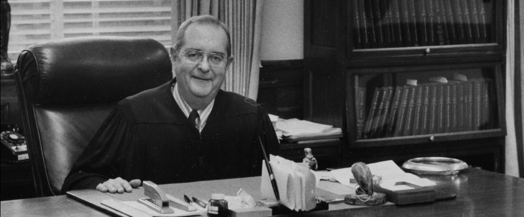 U.S. District Judge James F. Gordon, December 28,1971. Source: The Courier Journal.