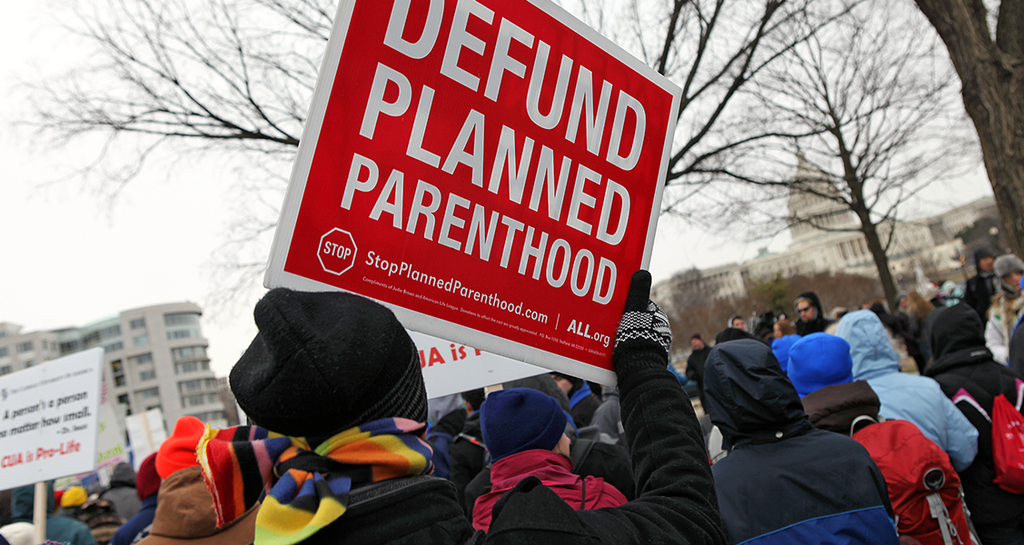 Sign at March of Life . Source: Flickr.
