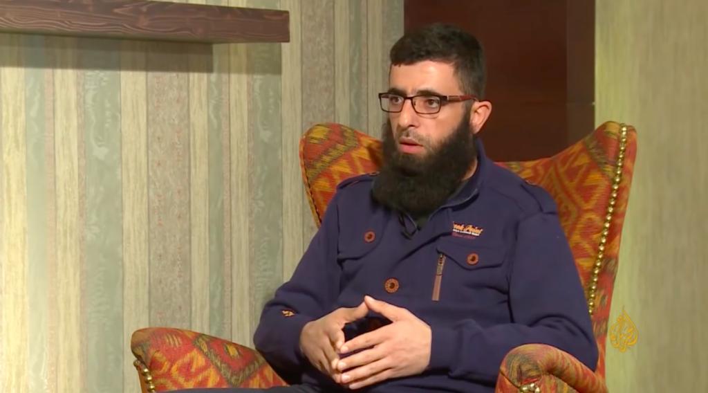 Ahrar al-Sham commander al-Farouq Abu Bakr