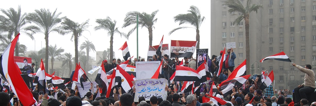 Tahrir - Protests in Tahrir Square on February 25, 2011 © Flickr/intal
