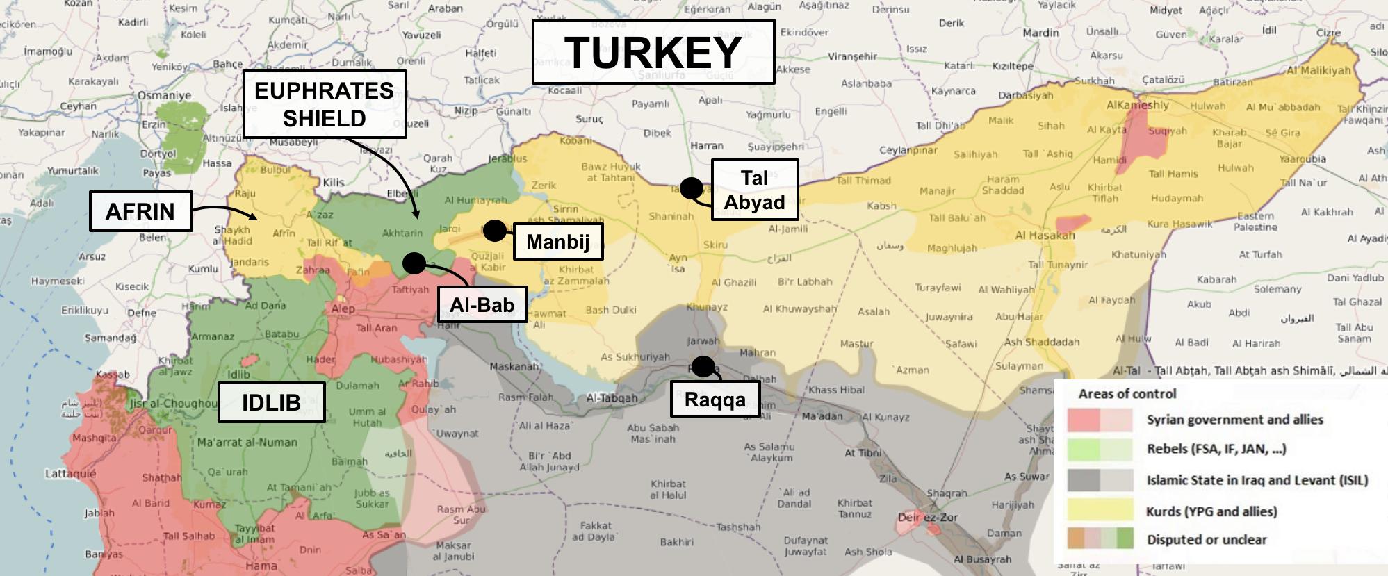Turkeys Turkey First Syria Policy