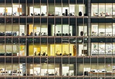 People who work overtime