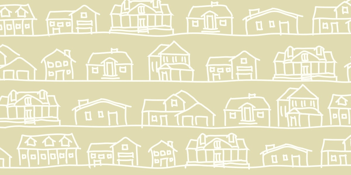 675727a76de1 Basic   stylish vector drawing of houses.