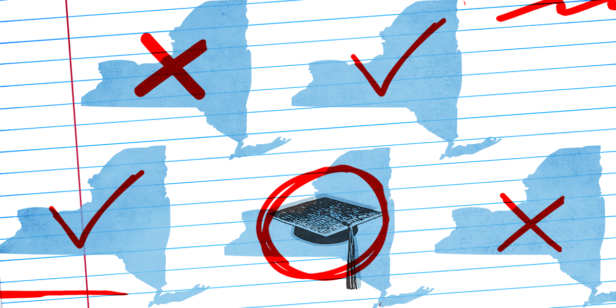 New Nces Study Examines Black White >> Grading New York S Colleges