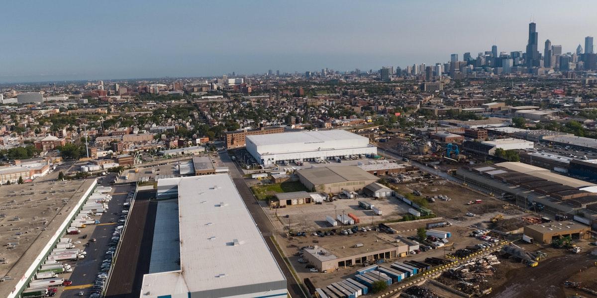 Industrial Building Aerial
